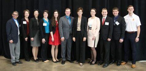 ISA Scholarship Recipients Recognized